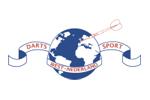 Logo van aangesloten dartsbond: Darts Sport West Nederland