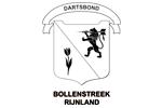 Logo van aangesloten dartsbond: Dartbond Bollenstreek Rijnland