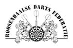 Logo van aangesloten dartsbond: Roosendaalse Darts Federatie