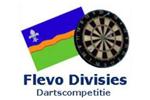 Logo van aangesloten dartsbond: Flevo Divisie Dartcompetities
