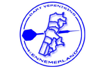 Logo van aangesloten dartsbond: Dart Vereniging Kennemerland