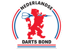 Logo van aangesloten dartsbond: Nederlandse Darts Bond