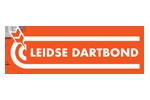 Logo van aangesloten dartsbond: Leidse Dartbond