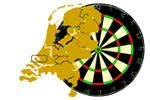 Logo van aangesloten dartsbond: Onafhankelijke Darts Federatie
