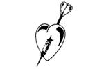 Logo van aangesloten dartsbond: Dart Federatie Het Groene Hart