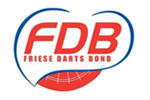 Logo van aangesloten dartsbond: Friese Darts Bond