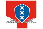 Logo van aangesloten dartsbond: Darts Organisatie Regio Amsterdam