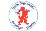Logo van aangesloten dartsbond: Darts Organisatie Groningen Drenthe