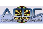 Logo van aangesloten dartsbond: Arnhem Centrum Dart Competitie