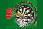 Logo van aangesloten dartsbond: Meppeler Darts Vereniging