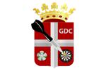 Logo van aangesloten dartsbond: Goorse Dart Competitie
