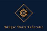 Logo van aangesloten dartsbond: Brugse Darts Federatie