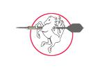 Logo van aangesloten dartsbond: Darts Vereniging Oost-Nederland