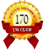 Proud member of 170 club