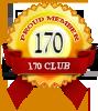 Proud member of 170 club